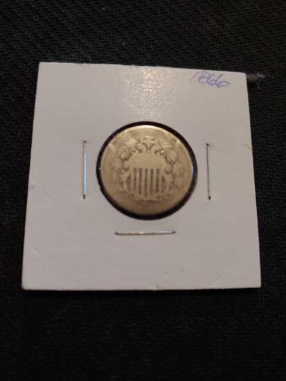 1866 nickel