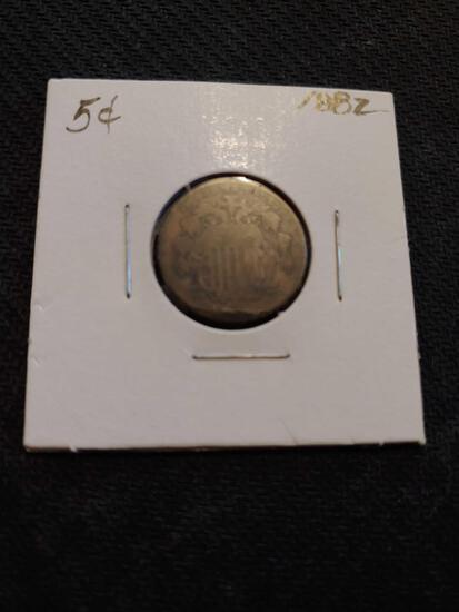1882 nickel