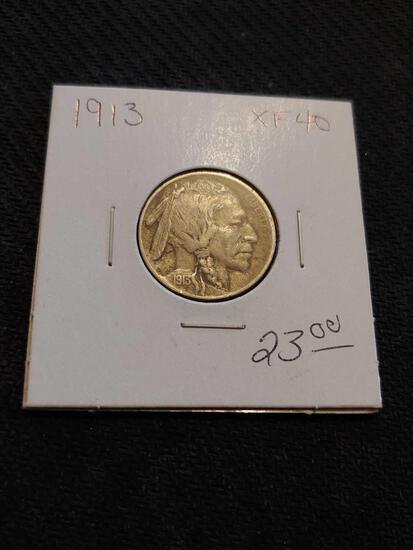 1913 xf40 Buffalo Nickel
