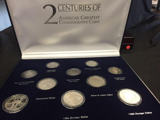 2 Centuries of Americas Greatest Commemorative Coins 10 Coins