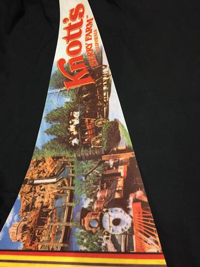 Vintage Knott's Berry Farm California Pennant from Collection