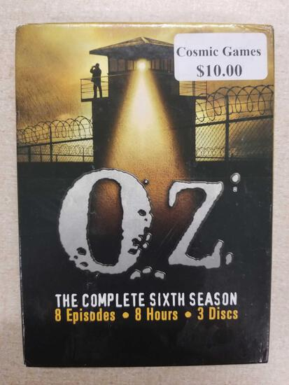 OZ THE COMPLETE SIXTH SEASON ON DVD