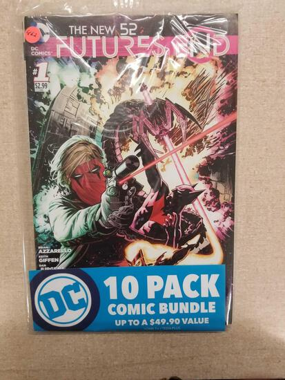 The New 52 FUTURES END DC Comics 10 Pack Comic Bundle Sealed
