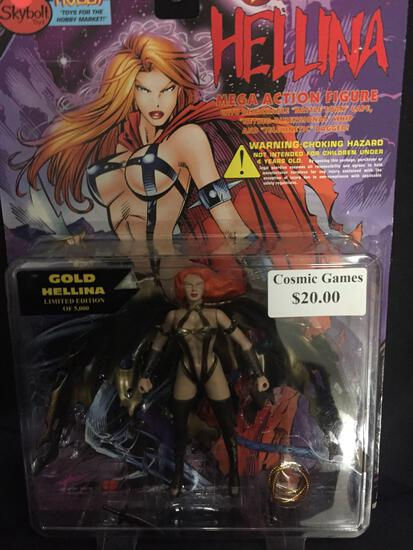 Skybolt Toys Hobby Lightening Comics HELLINA GOLD HELLINA Limited Edition of 5k New in Package