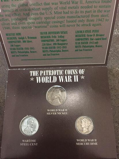 The Patriotic Coins of WWII