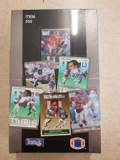 Factory Sealed 1991 Ultra Football 36 Pack Box of Packs