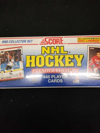 Factory Sealed Box Score 1990 Collector Set NHL Hockey Premier Edition 445 Player Cards