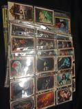 Lot of Binder Sleeves of Non Sports Cards, KISS and ROCKY