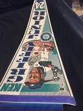 Vintage Ken Griffey Junior #24 Seattle Mariners MLB Pennant from Collection