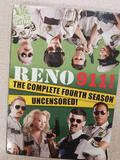 RENO 911! THE COMPLETE FOURTH SEASON UNCENSORED! DVD SET