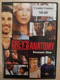 GREY'S ANATOMY SEASON ONE ON DVD