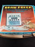 Vintage Draw Poker Electric Game of Poker Full Automatic Model No. 7101 in Original Box