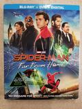Factory Sealed Marvel SPIDER-MAN FAR FROM HOME Blu-Ray + DVD + Digital