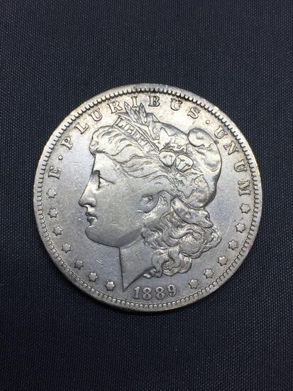 1889-O United States Morgan Silver Dollar - 90% Silver Coin