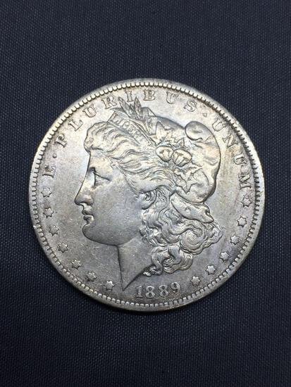 1889-O United States Morgan Silver Dollar - 90% Silver Coin