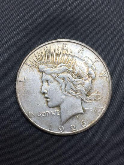 1926-S United States Peace Silver Dollar - 90% Silver Coin