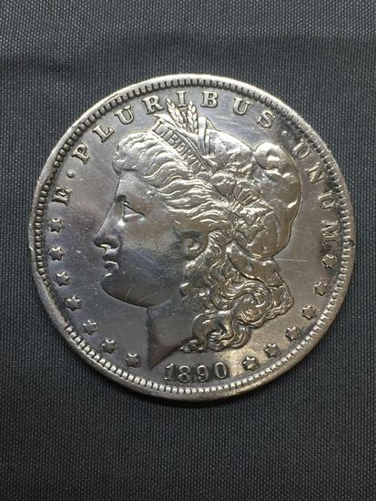 1890-O United States Morgan Silver Dollar - 90% Silver Coin