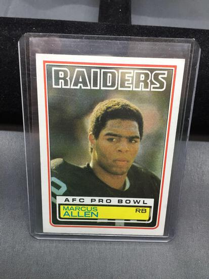 1983 Topps #294 MARCUS ALLEN Raiders ROOKIE Football Card