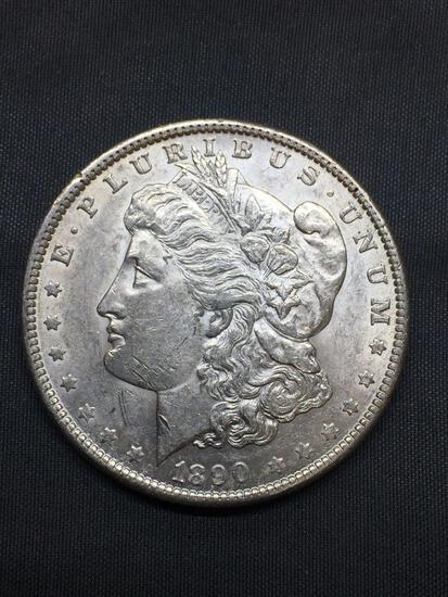 1890-P United States Morgan Silver Dollar - 90% Silver Coin