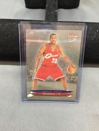 2003-04 Ultra #171 LEBRON JAMES Cavs ROOKIE Basketball Card