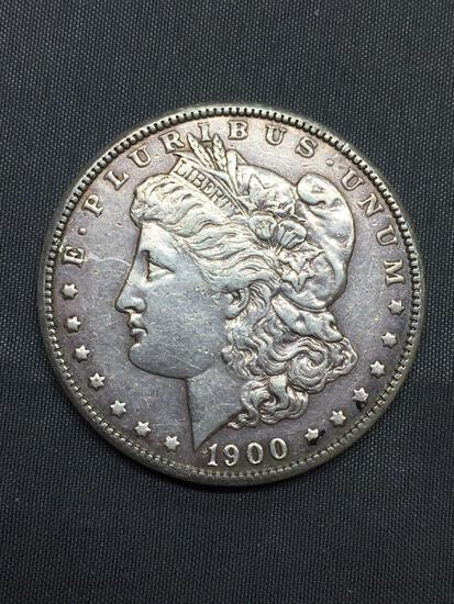 1900 United States Morgan Silver Dollar - 90% Silver Coin