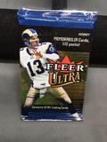 Factory Sealed 2002 Ultra Football 10 Card Hobby Pack