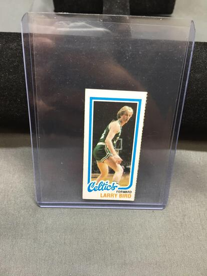 1980-81 Topps #34 LARRY BIRD Celtics ROOKIE Basketball Card - Separated =(