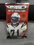 Factory Sealed 2007 Topps Total Football 10 Card Pack from Hobby Box - Calvin Johnson Rookie?