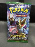 Factory Sealed Pokemon XY FATES COLLIDE 10 Card Booster Pack