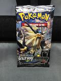Factory Sealed Pokemon SUN & MOON ULTRA PRISM 10 Card Booster Pack