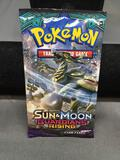Factory Sealed Pokemon SUN & MOON GUARDIANS RISING 10 Card Booster Pack