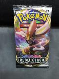 Factory Sealed Pokemon SWORD & SHIELD REBEL CLASH 10 Card Booster Pack