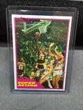 1981-82 Topps #West 109 MAGIC JOHNSON Lakers Vintage Basketball Card