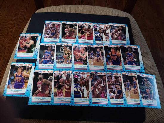Fleer 1989 All star card lot of 20