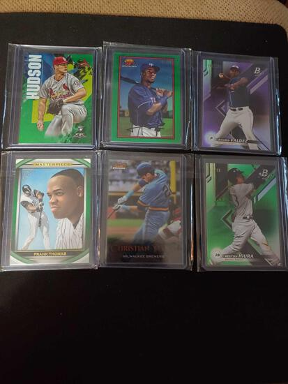Lot of 6 #ed cards
