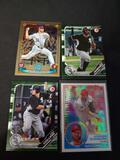 Baseball card lot of 4