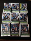Russell Wilson lot of 9