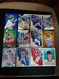 Sports card lot of 12