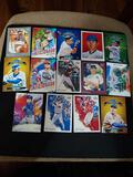 Sports card lot of 14