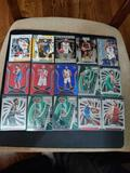 Basketball card lot of 15