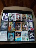 Sports card lot of 15