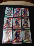 Basketball rc lot of 9