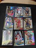 Basketball card lot of 9