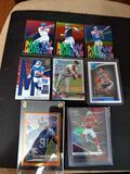 Sports card lot of 8