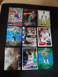 Sports card lot of 9