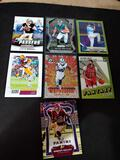 Sports card lot of 7