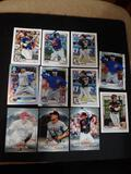 Sports card lot of 11