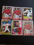 Baseball rc lot of 6