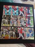 Baseball card lot of 12