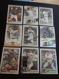 Baseball card rc lot of 9